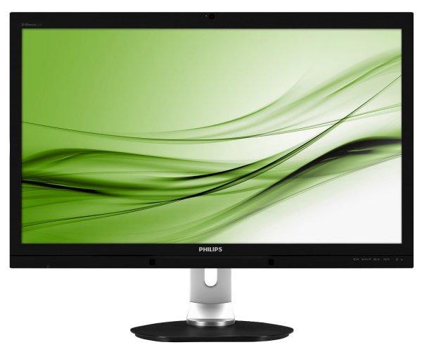 """Philips 272P4QPJKEB, (27""""), LED, PLS-Panel, WQHD, Pivot, Webcam für 432,13€ @Amazon.it"""