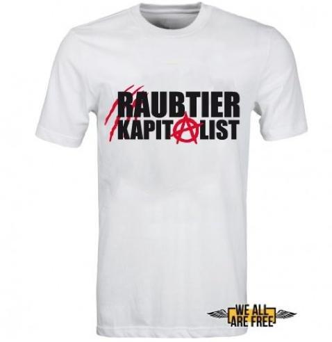 Kapitalisten/Anarchisten T-Shirt für 6,99€ zzgl. Versand