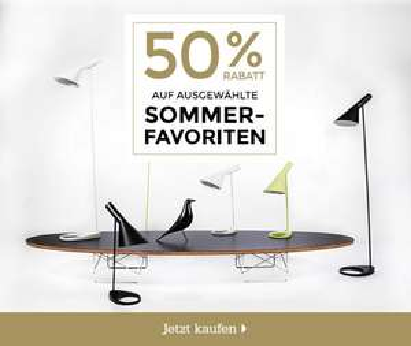 VOGA 50% Sommer / Geburtstagsrabatt