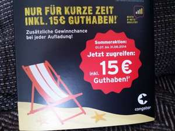DM Congstar Prepaid Karten + PSN Sommerangebote