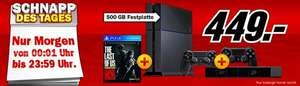 PlayStation  4 + 2. Controller + Kamera + The Last of us (Bundesweit) bei Media Markt