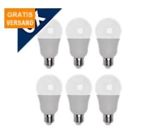 @Medion Greenlife LED Lampen 6er Pack E27 und E14