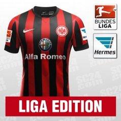 Nike Eintracht Frankfurt SS Home Jersey 2014/2015 Liga Edition für 64,88 € auch andere Vereine [SC24]