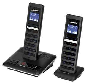 Design Twin DECT MEDION® LIFE® S63085 (MD 83282) (B-Ware)
