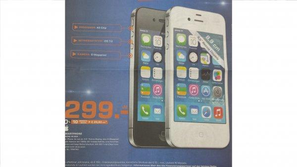 Apple Iphone 4s 8GB für 299€ @Saturn Stuttgart