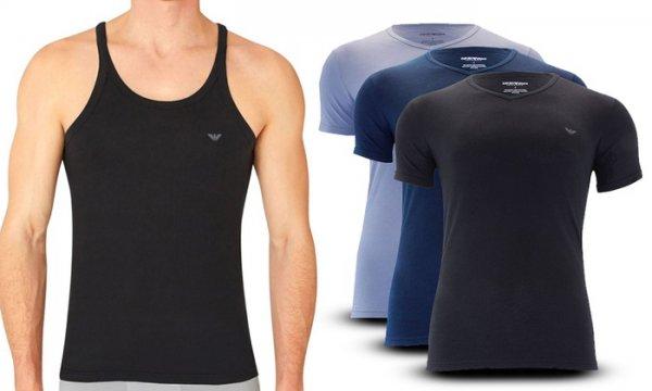 [Groupon ] Emporio Armani 3er-Pack Herren-Shirts oder Tanks