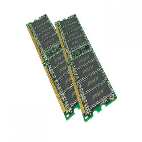 2x2GB DDR2-PC800 KIT (4GB Arbeitsspeicher) für 19,54 Euro