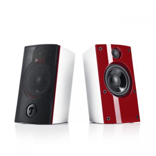 Teufel Concept B 20 Mk2 - PC-Stereo-Lautsprecher für PC/Mac/Notebook - weiß/rot 77,77€ / schwarz 88€