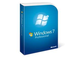 Windows 7 Professional SP1 32/64bit Lizenz für 19,50 € (42,00 € Idealo) @Rakuten