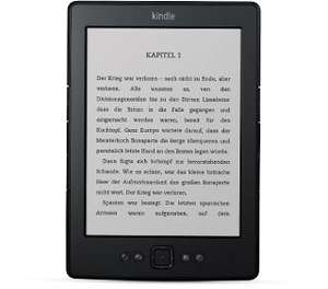 (LOKAL - LIPPSTADT - MEDIA MARKT) Kindle, 15 cm (6 Zoll) E Ink-Display, WLAN, Schwarz