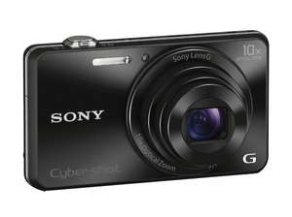 Sony DSC-WX220 Digitalkamera (18 Megapixel, 10-fach opt. Zoom, 6,8 cm (2,7 Zoll) LCD-Display, NFC, WiFi) schwarz für 154,85€ @ ZackZack