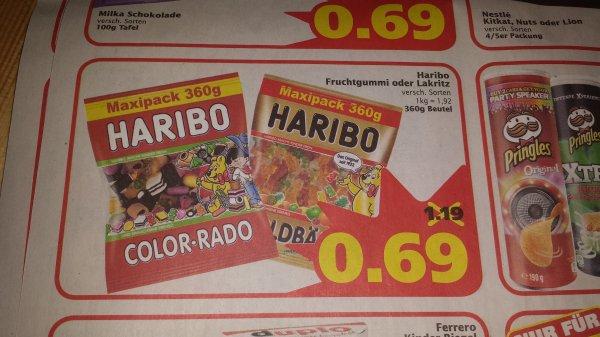 (lokal Wunstorf) Haribo 360 g Tüte beim Marktkauf Wunstorf