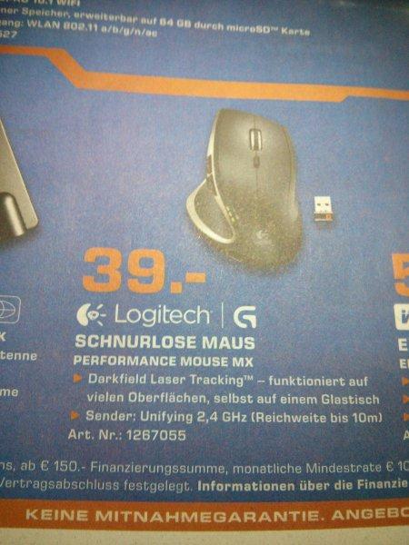 logitech performance mouse mx 39€ Köln Saturn