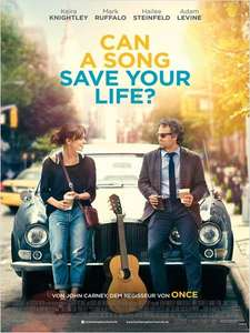 """Nochmal fast gratis ins Kino """"Can a song save your life?"""" in 7 Städten"""