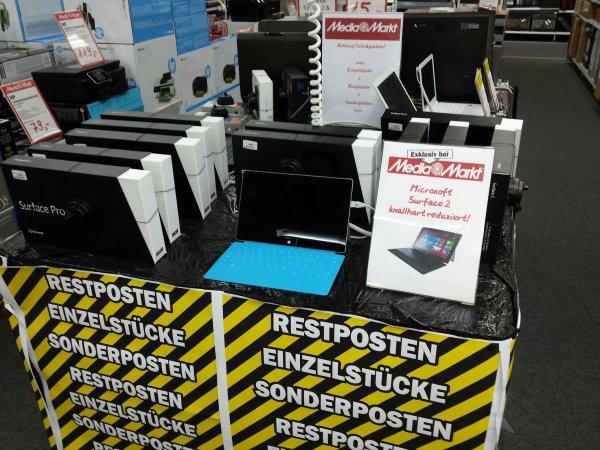 [Lokal MM Buxtehude] Microsoft Surface 2 Pro & RT zum kleinen Preis!