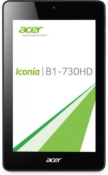Acer Iconia One 7 (B1-730HD) 17,8 cm (7 Zoll) Tablet-PC (Intel Atom Z2560, 1,6GHz, 1GB RAM, 8GB eMMC, HD Display mit IPS Technologie, Android 4.2) schwarz