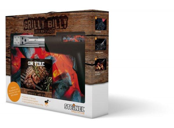 ebay WOW - Steinl Grilly Billy + Grill-Bibel für 22,- inkl. Versand