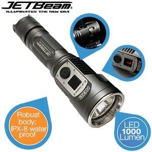 JETBeam DDR26 Taschenlampe mit 1000 Lumen bei ibood  für 55,90€
