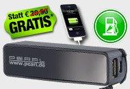 NOCH 15 Min: Powerbank 2200 mAh gratis bei Pearl zzgl. VSK (5,97 Euro)