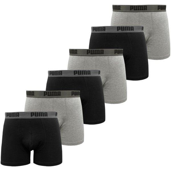 [Amazon] PUMA Herren PROMO STYLE Boxershort 6er Pack für 21,95 EUR