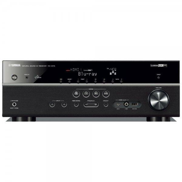 Yamaha RX-V475 Netzwerk AV-Receiver (5.1-Kanal, 115 Watt pro Kanal, MHL, DLNA, Dolby TrueHD, HDMI, AirPlay, USB) in schwarz [@redcoon] für 189€