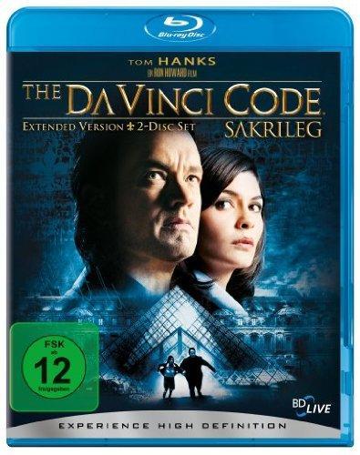 Sakrileg und Illuminati Blu-Rays für 8.97€