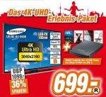 Samsung UE 40 HU 6900 4K TV mit 500GB Festplatte inkl. 40UHD Filmen und Dokus im Wert von 299 Euro @ expert technikmarkt