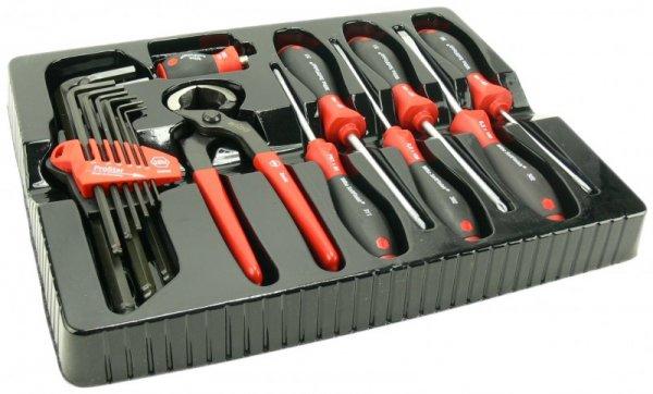 Wiha Werkzeug Set 17 tlg Schraubendreher Kneifzange Inbus (eBay)