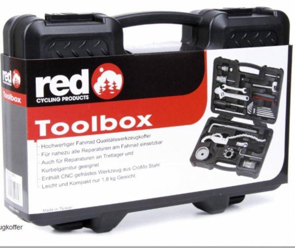 RCP Toolbox Rad-Werkzeugkoffer 39 €, VSK 5,99 € oder billiger mit Füllartikel