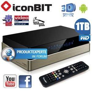 Iconbit XDS1003D FullHD 3D Multimediaplayer für 66€ @iBOOD
