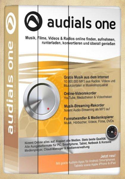 Audials One 11 für 22,99€ als Vollversion @amazon.de