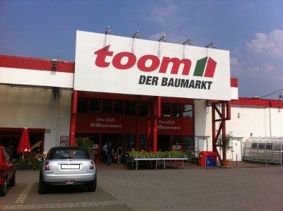 Neueröffnung Toom Baumarkt Chemnitz Planitzwiesse.