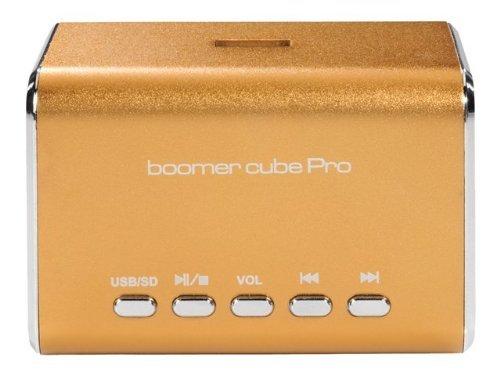 Ultron boomer cube Pro braun Stereo Multimedia Mini-Lautsprecher für 11,11€ von Cosse