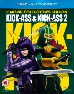 Kick-Ass & Kick-Ass 2 (Inkl. UV Copy) [Blu-ray] für 12,89€ @Zavvi.com