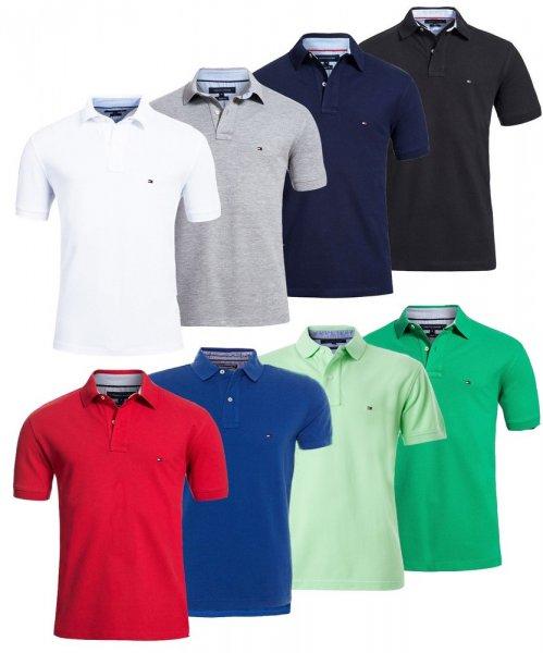 Tommy Hilfiger Herren Polo Original regular fit in verschiedenen Farben