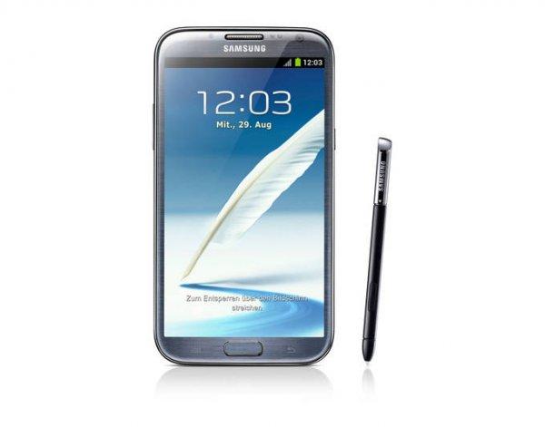 Samsung Galaxy Note II 4G GT-N7105 titanium silver 16GB @meinpaket 349,-€