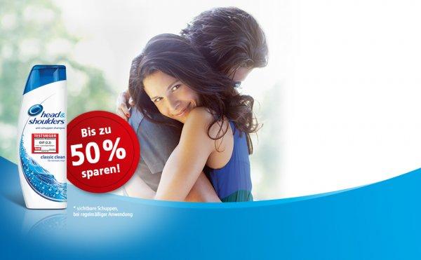 [for-me-online] Coupons für head & shouders: Bis zu 50% sparen