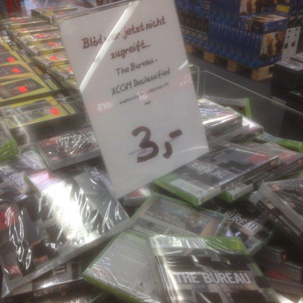 The Bureau - XCOM Declassified für PC/Xbox 360/PS3 je 3€ (Idealo 7,99€) @ Media Markt Wuppertal