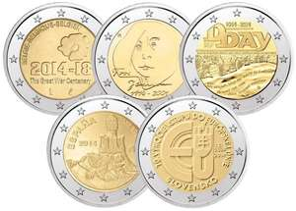 2€  Sondermünzen aus Belgien, Finnland, ... 10€ gegen 10€