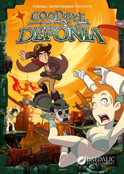 Goodbye Deponia Premium Edition [Steam] für 5,07€ @Amazon.com