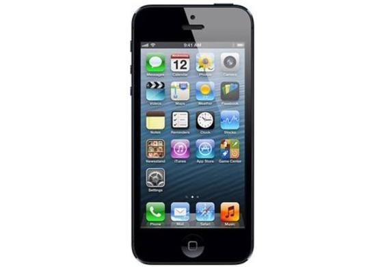 Apple iPhone 5 (16GB) & Apple iPhone 4 (8GB) in schwarz und weiß