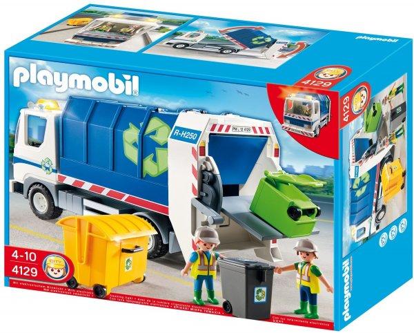 Playmobil™ - Recycling-Fahrzeug mit Blinklicht (4129) für €22.- [@Real.de]