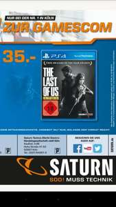 [Saturn Köln] The Last of Us Remastered (PS4) für nur 35€