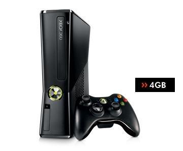 Xbox 360 Slim 4GB (Gebraucht) für 79€ @Gamestop