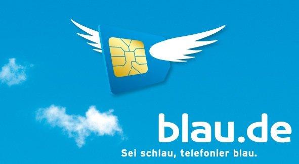 Blau SImkarte mit 5€ Startguthaben GRATIS!