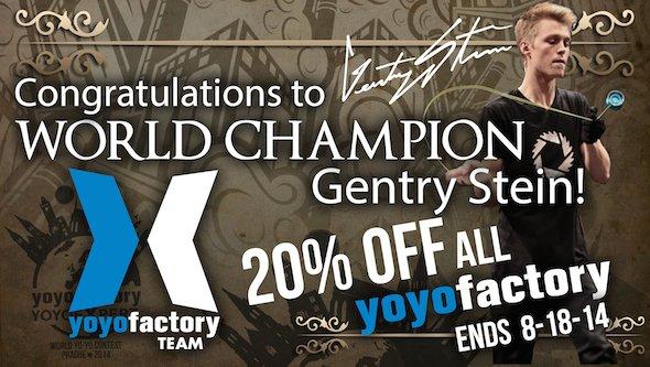 20% auf alle YYF Yoyos