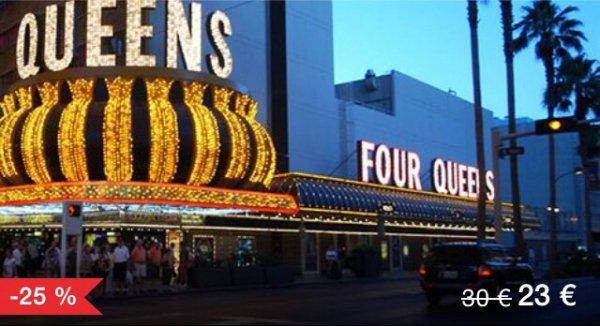 [Lokal Las Vegas] Four Queen Hotel and Casio - Standardzimmer inkl. Fun Book!