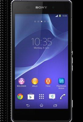 Sony Xperia Z2 mit 16 GB in schwarz