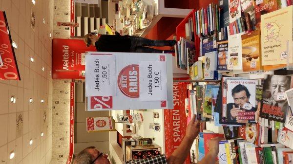 [lokal Ludwigshafen rheingalerie]  Weltbild jedes Buch 1,50€