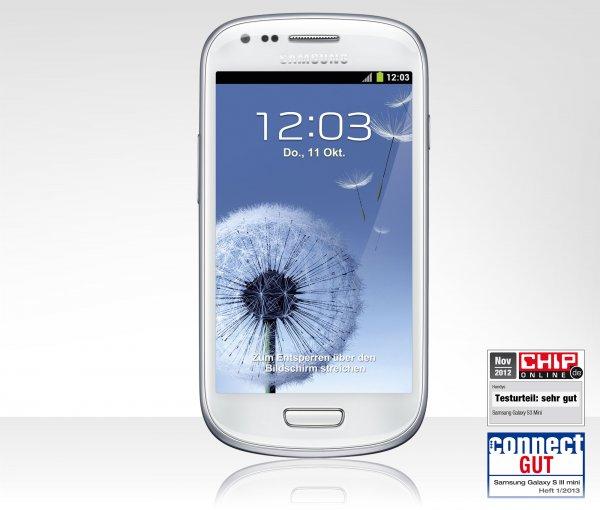 Samsung Galaxy S3 mini NFC mit Newsletter anmeldung für 100€ {??Tchibo o2 (Simlock)??}